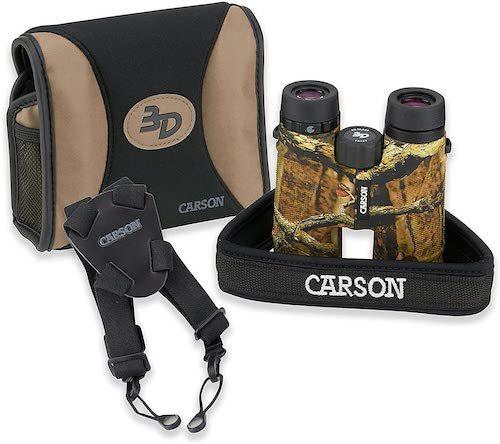 Carson 3D Binoculars accessories