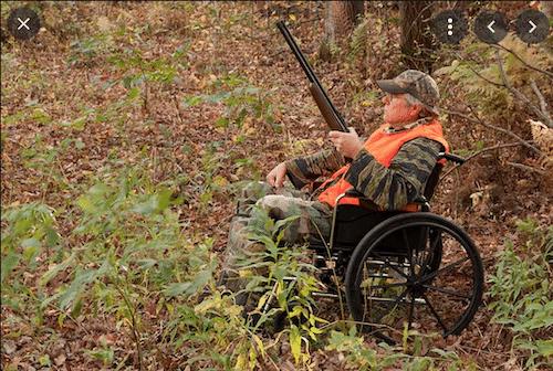 Disabled Hunter