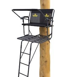 Rivers Edge Two Plex Best Ladder Stand for Big Guys