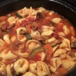 venison sausage and tortellini soup
